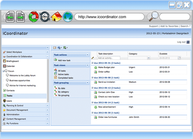 Free Project Management Software - Task Management